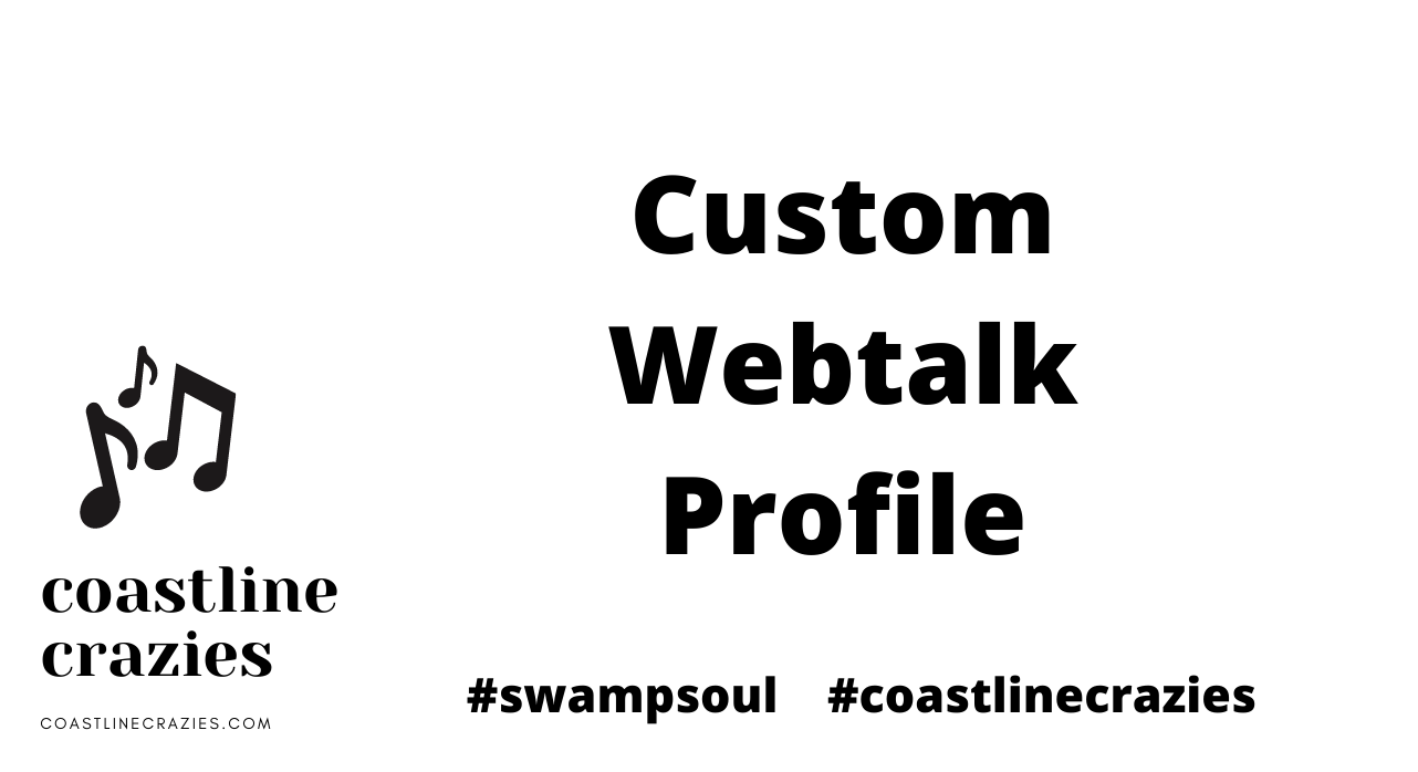 custom webtalk profile