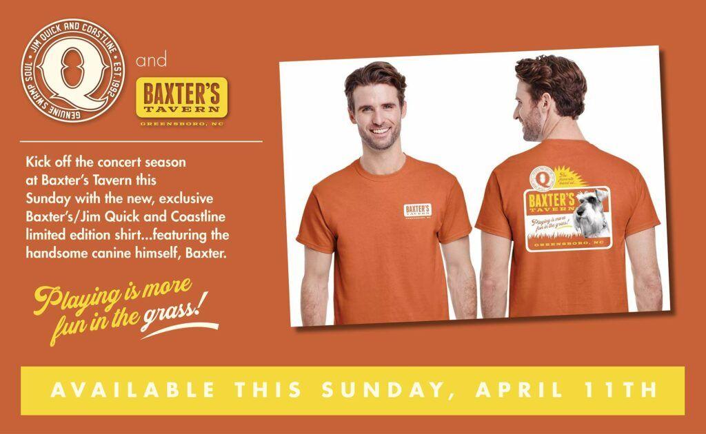baxters coastline tshirt