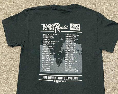 coastline tour shirt